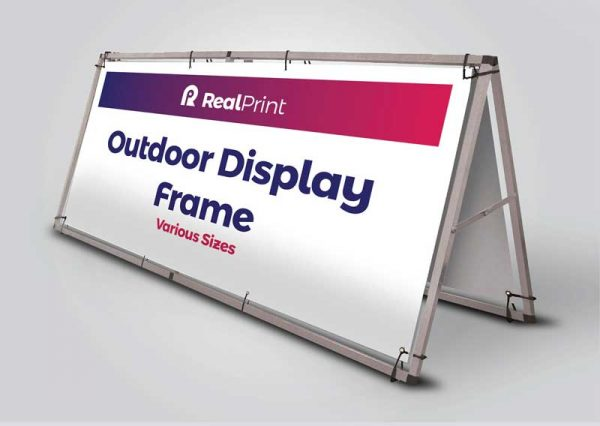 Outdoor Display Frame