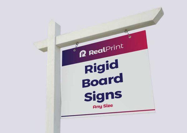 Rigid Board Signs