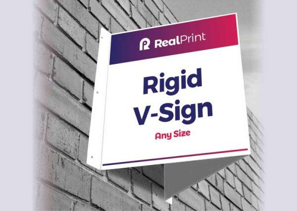 Rigid V-Sign