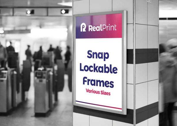 Snap Lockable Frames